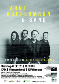 Konzertlesung - Arne Kopfermann - Mitten aus dem Leben @ Evangelische Freikirche Sahlkamp