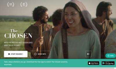 """Interessengruppe  """"The Chosen"""" Seriengucker (mit anschließender Klönrunde) @ Evangelische Freikirche Sahlkamp"""
